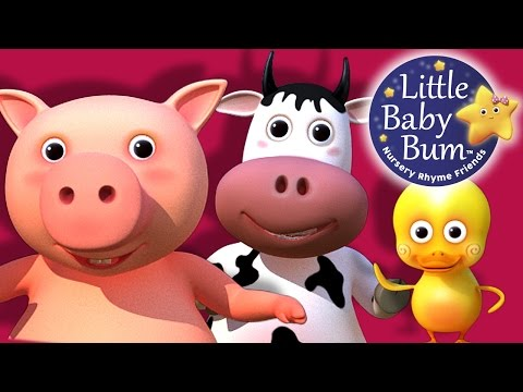 Old MacDonald Had A Farm | Nursery Rhymes | from LittleBabyBum!
