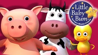Old MacDonald Had A Farm | Nursery Rhymes | HD version from LittleBabyBum