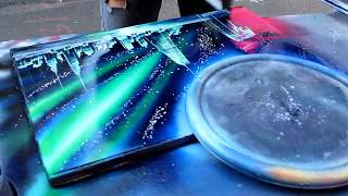 AMAZING New York City Spray Paint Art in Time Square 2014 :) thumbnail