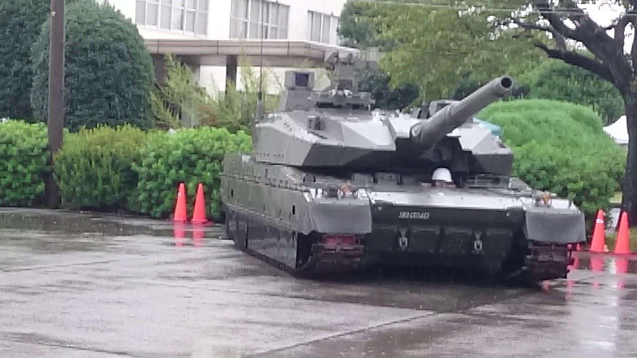 10式戦車試作4号車姿勢制御と超...