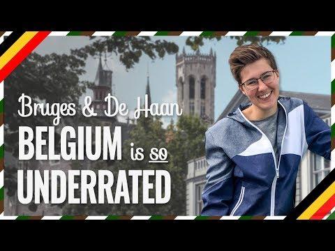 Bruges, De Haan, Nieuwpoort - BELGIUM Is SO UNDERRATED