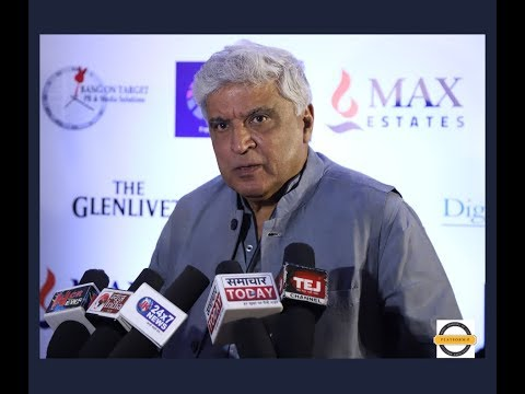 Javed Akhtar in conversation with Prof. Purushottam Agrawal moderated by Manish Pushkale.