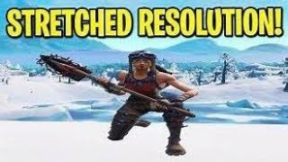 How To Get Stretched Resolution and Scroll Wheel Reset On PC Fortnite