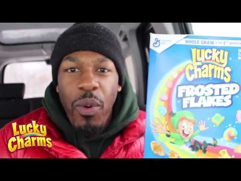 Lucky Charms Frosted Flakes!!!??