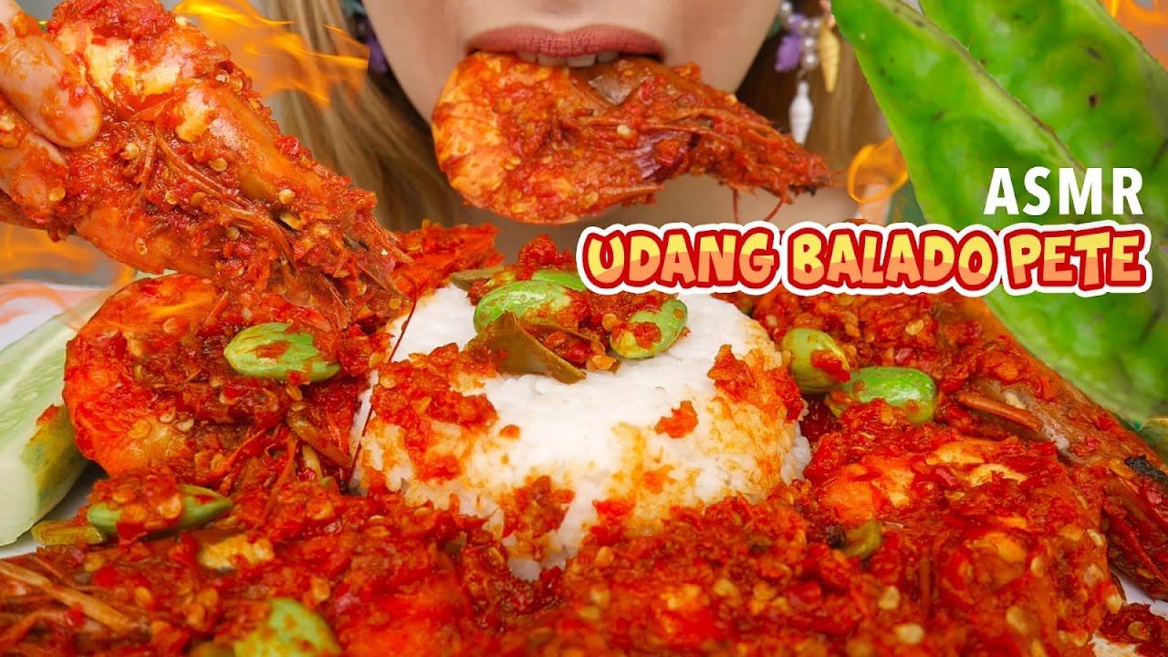 #152 Request ASMR UDANG BALADO PETE 100 CABE (Whispering) | ASMR Indonesia