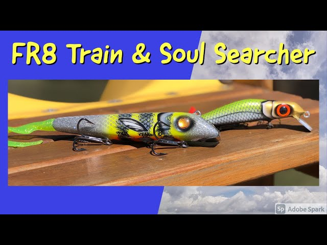 Go underwater with the Bangarang Custom Baits FR8 Train and Soul Searcher Twitch Bait. Cool footage!