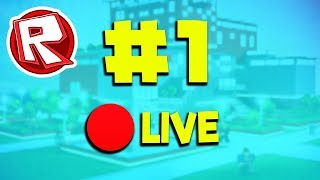 #1 🔴ROBLOX LIVE STREAM (JASEWOOF)