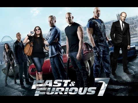 Fast and Furious 7 music video