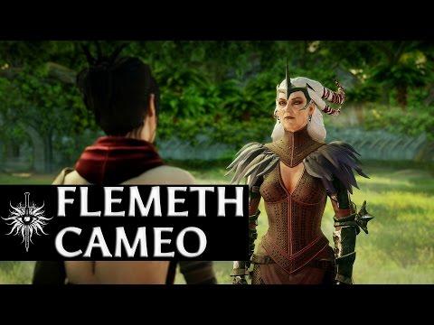 Dragon Age: Inquisition - Flemeth Cameo (no Kieran/no Dark Ritual)