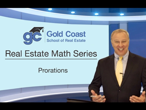Prorations - Real Estate Math (15 of 18)