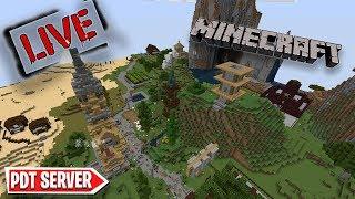 ΣΥΝΕΧΙΖΩ ΤΟ ΣΠΙΤΙ ΜΟΥ // PDT Server Minecraft