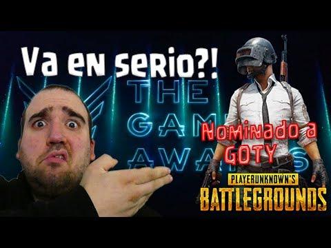 ¡¡LOS GAME AWARDS NO TIENEN CREDIBILIDAD!! - Nominados GOTY 2017 - PUBG - Opinión