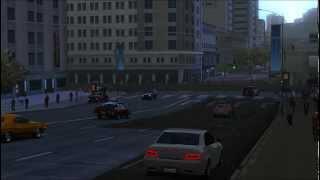 Driver SF - Cutscene - Frozen city