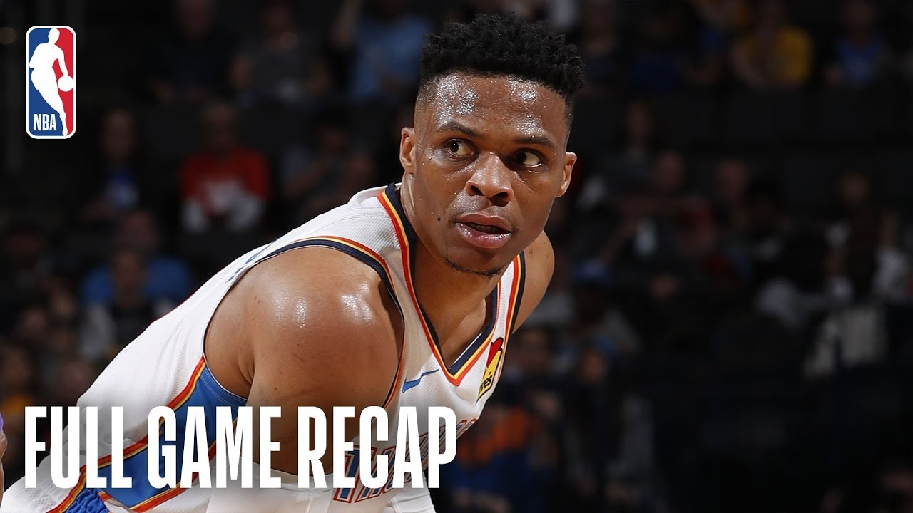 Westbrook records historic triple-double, leads Thunder past Lakers