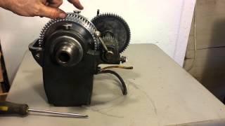 Atlas Craftsman 12 inch lathe headstock TH42
