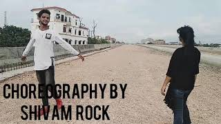 Dilbar Dilbar song...dance cover by shivam rock and palak raj.....choreography by shivam rock