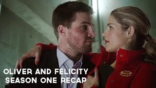 Oliver and Felicity | Season One Recap