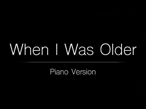 Billie Eilish - WHEN I WAS OLDER (Piano Karaoke Instrumental)