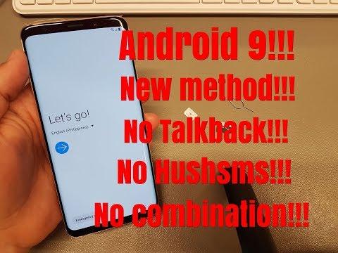 BOOM!!! Samsung S9 Plus /SM-G965F/ Android 9  Remove Google