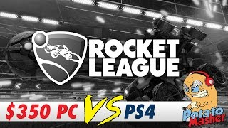 PC Vs PS4 - Can a $350 PC Play Rocket League?