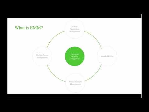 Introduction to Enterprise Mobility Management