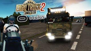 Рейс длиной в 3000км на Юг Сибири на Камазе День 7 - Euro Truck Simulator 2 + VR Oculus Rift + руль