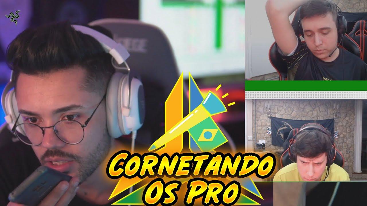 COBRANDO O TIME AO VIVO PARA GARANTIR A VITORIA DA NOVA PENTA DO R6! - CORNETANDO OS PRO