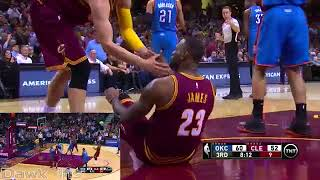 Kevin Durant vs LeBron James MVPs Duel 2015  58 Pts, 16 Dimes Combined! Y