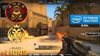 GRAND FINAL - ENCE vs MAD Lions - IEM Katowice  2020 Qualifier - CS:GO