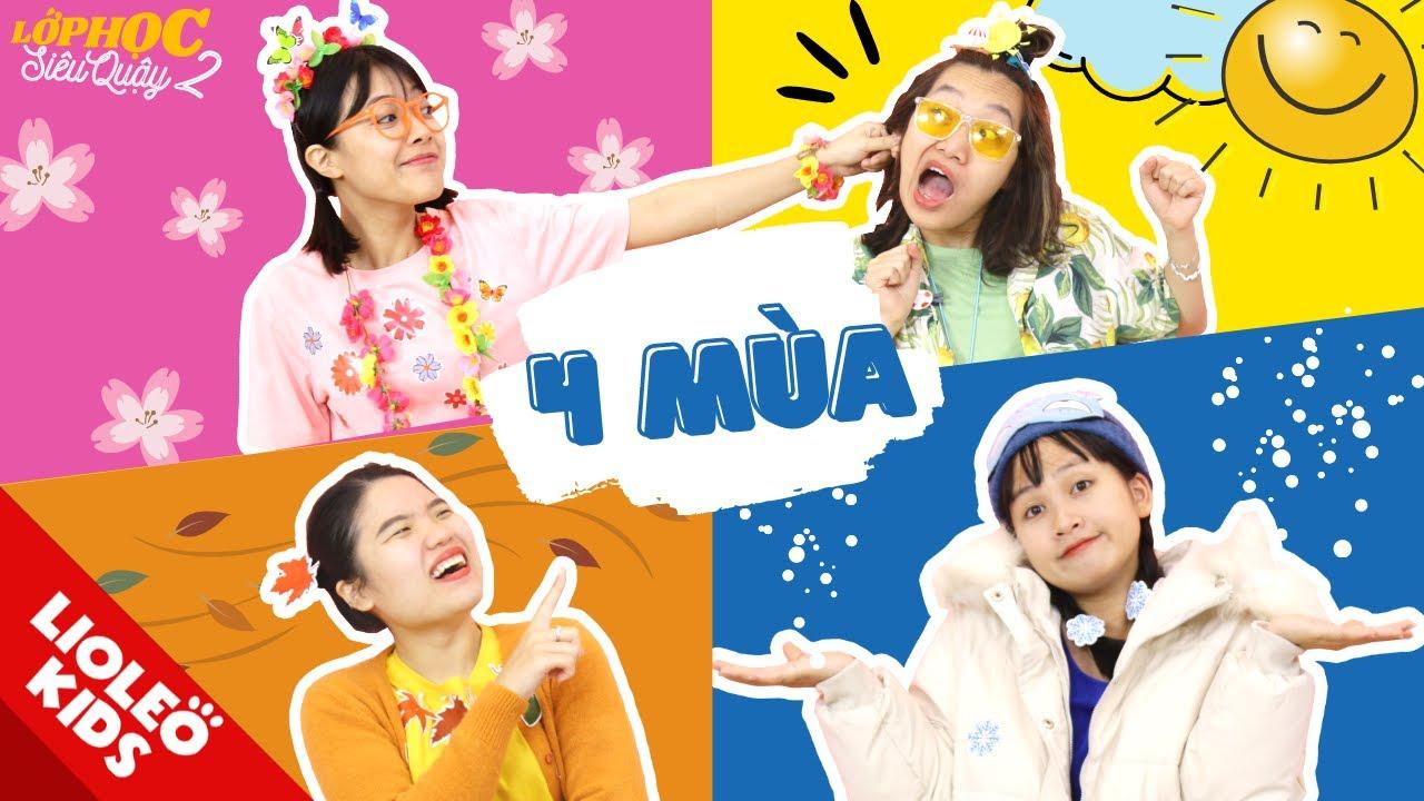XUÂN HẠ THU ĐÔNG - Lee Cie hoá mùa xuân đầy hoa lá và món Bento 4 mùa đỉnh cao!!!! - LHSQ 2 tập 20