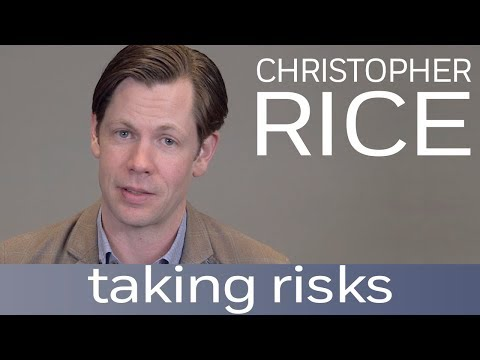 Author Christopher Rice on the ideal writing space and taking risks | Author Shorts
