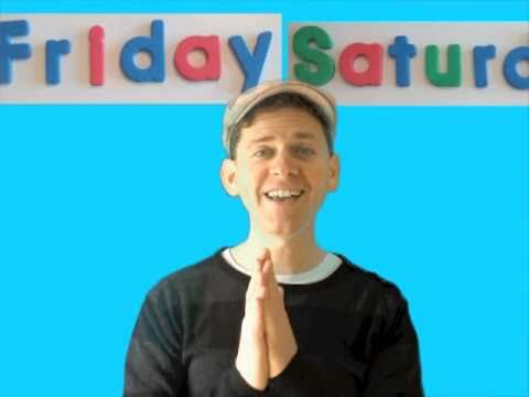 Days of The Week Song For Kids - YouTube
