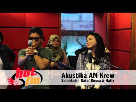 Akustika AM Krew : Salahkah - Hafiz & Dato' Rossa