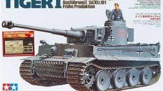 #3 -- Tamiya 1/35 Tiger I (early) - inbox review