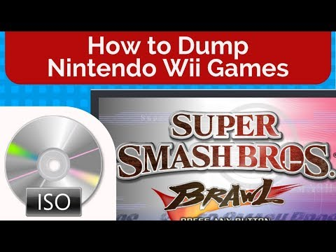 How to Dump Nintendo Wii Games