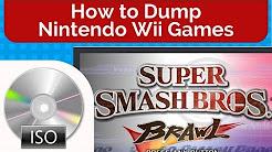How to Dump Nintendo Wii Games