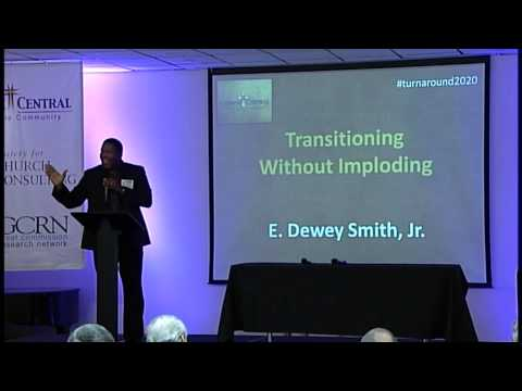 Dewey Smith's personal story of his challenging pastoral transition