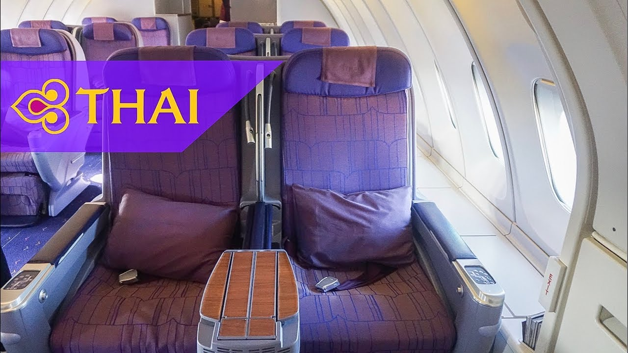 THAI Airways 747 Upper Deck Business Class | Bangkok to Phuket