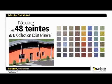 weber lance sa nouvelle offre couleur d 39 enduits min raux youtube. Black Bedroom Furniture Sets. Home Design Ideas