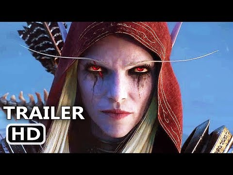 WORLD OF WARCRAFT Shadowlands Official Trailer (2020) WoW Cinematic Video Game HD