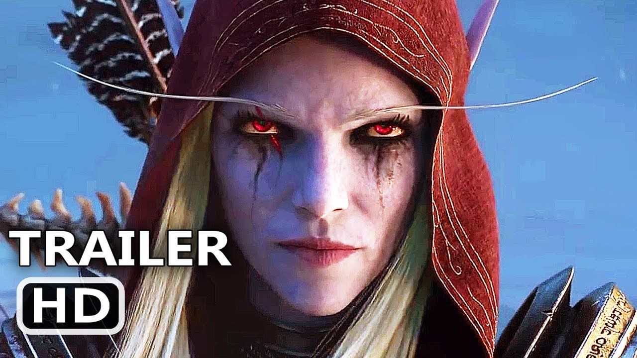 WORLD OF WARCRAFT Shadowlands Official Trailer (2020) WoW Cinematic Video Game HD thumbnail