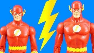 The Flash Teaches Kid Flash Cosmic Treadmill Speed Running | Superhero Rescue Flash Power Ring