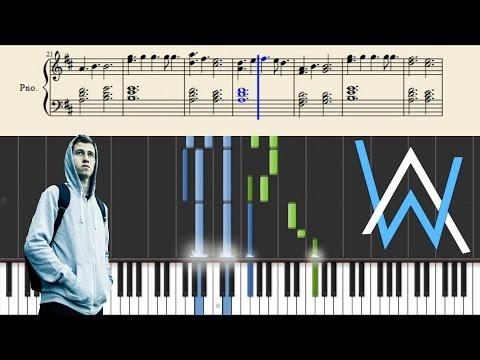 Alan Walker - Force - Piano Tutorial + Sheets