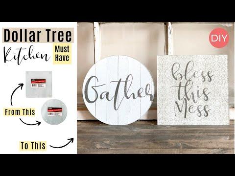 Dollar Tree Cutting Board DIY | Quick And Easy | Ashleigh Lauren