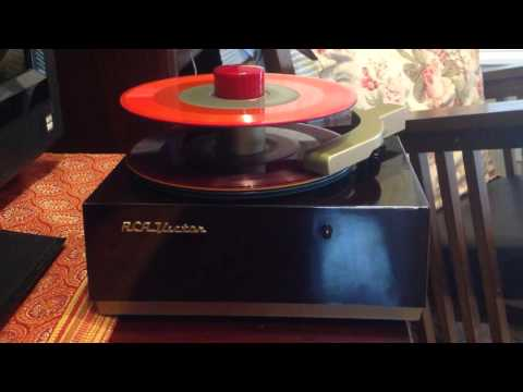 RCA Victor Color Coded 45 rpm Records Colored Vinyl On 1949 9JY Player