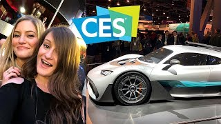 Exploring CES Day 1!