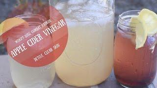 Apple Cider Vinegar Refreshers  Lose Weight  Detox  Clear Skin  Combat Fatigue