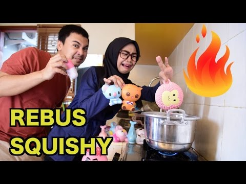 SQUISHY DARES! REBUS SQUISHY COUPLE w/ Raditya Dika