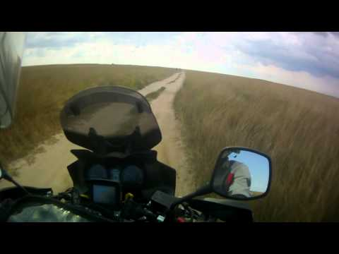 Suzuki DL 650 V-Strom off-road ride on Arabat spit, part 6