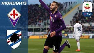 Fiorentina 3-3 Sampdoria | Thrilling three goal finale in Florence!  | Serie A
